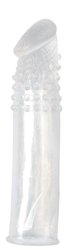 Насадка-удлинитель из прозрачного силикона LIDL EXTRA SILICONE PENIS EXTENSION - фото 128737