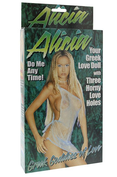 Надувная секс-кукла ALICIA LOVE DOLL 20K33 BX GP от Seven Creations