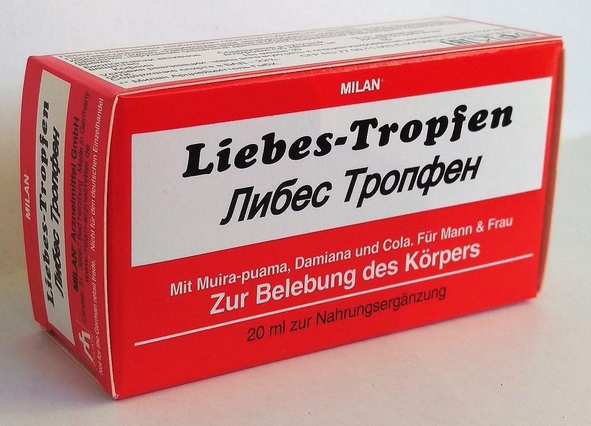 Возбуждающие капли для двоих Love Drops Liebes Tropfen - 20 мл.