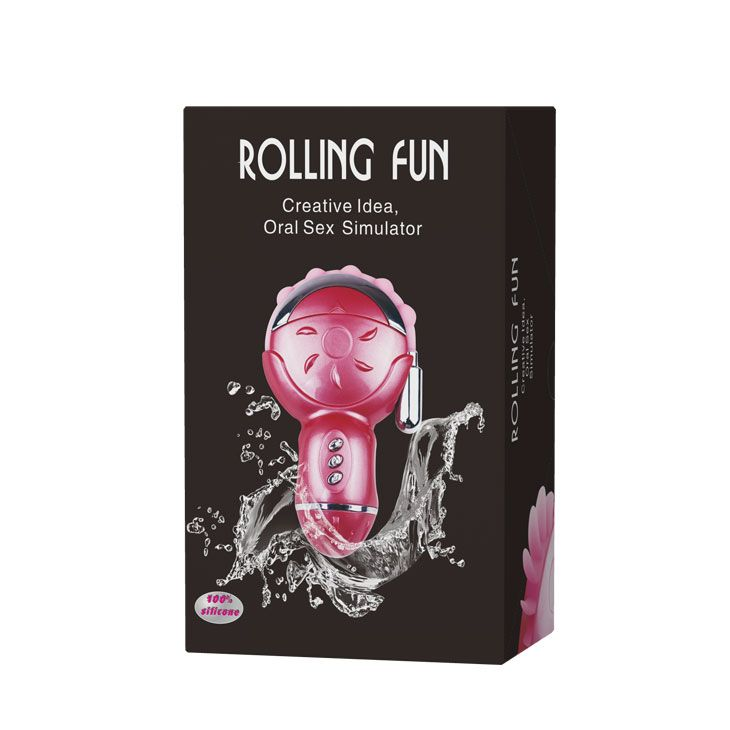 Имитатор орального секса с гнущимся анальным стимулятором Rolling Fun - фото 129572