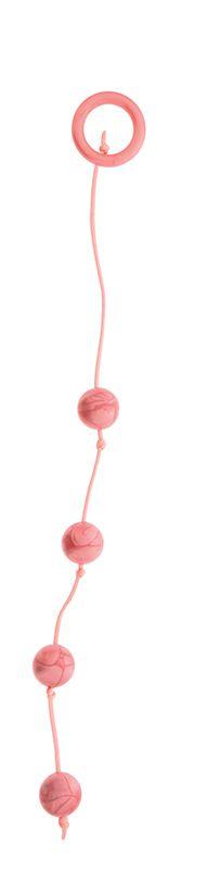 Перламутровые анальные шарики среднего размера