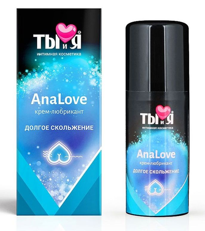 Анальный силиконовый лубрикант AnaLove - 20 гр. LB-70011 от Биоритм