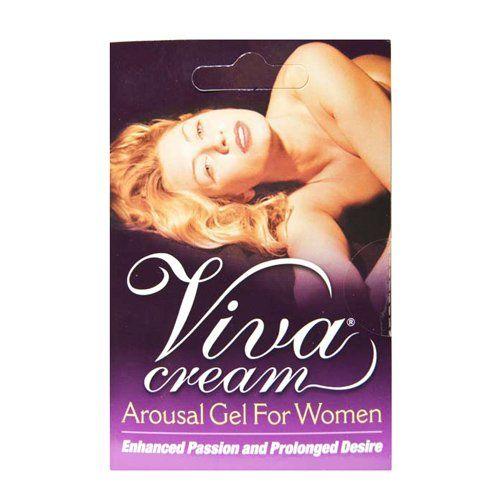 Пробник стимулирующего крема для женщин Viva Cream - 1 мл.