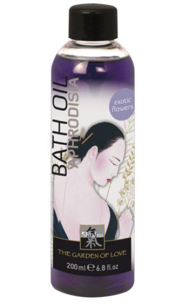 Масло для ванны  Афродизия  с запахом экзотических цветов - 200 мл.
