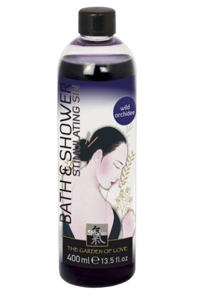 Гель для ванны и душа с ароматом дикой орхидеи - 400 мл.