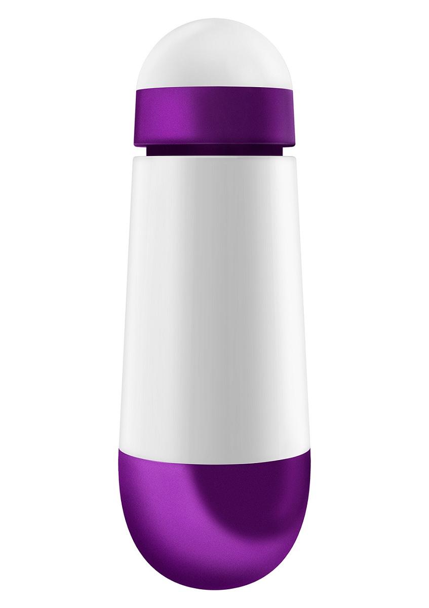 Бело-фиолетовая вибропуля W2