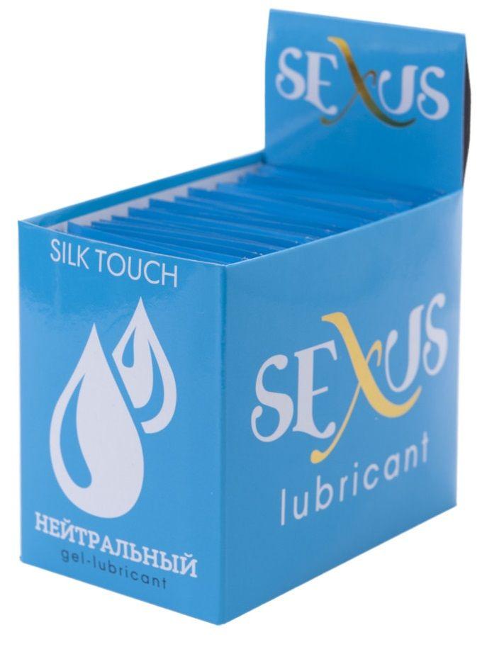 Набор из 50 пробников увлажняющей гель-смазки на водной основе Silk Touch Neutral  по 6 мл. каждый
