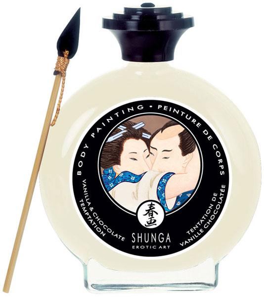 Декоративная крем-краска для тела с ароматом шоколада и ванили 7001 от Shunga