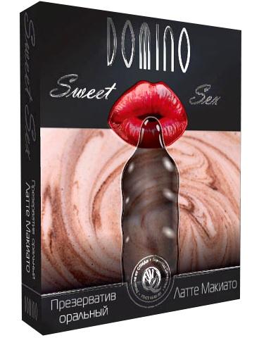 Презерватив DOMINO Sweet Sex  Латте макиато  - 1 шт.