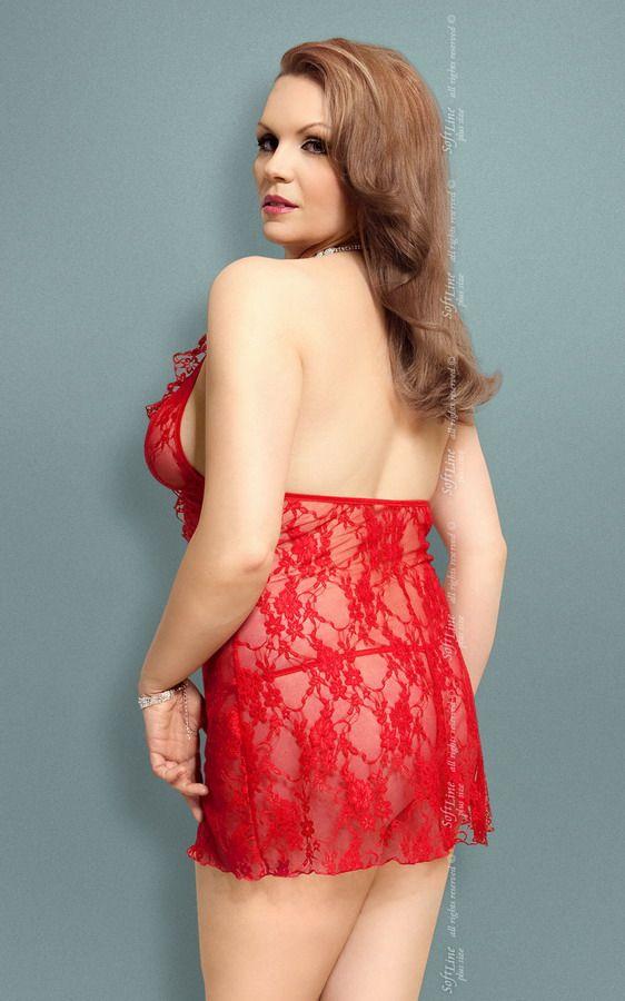 Сорочка Carmen из цветочного кружева - фото 132649