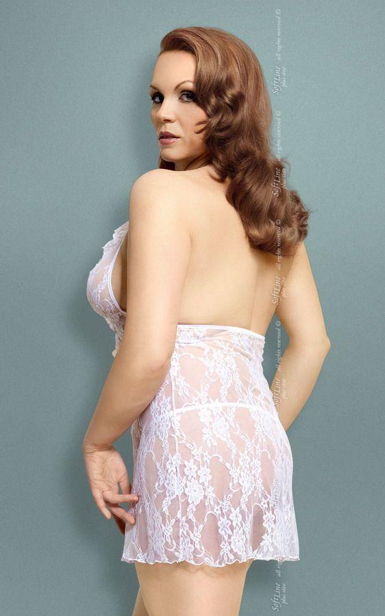 Сорочка Carmen из цветочного кружева - фото 132651