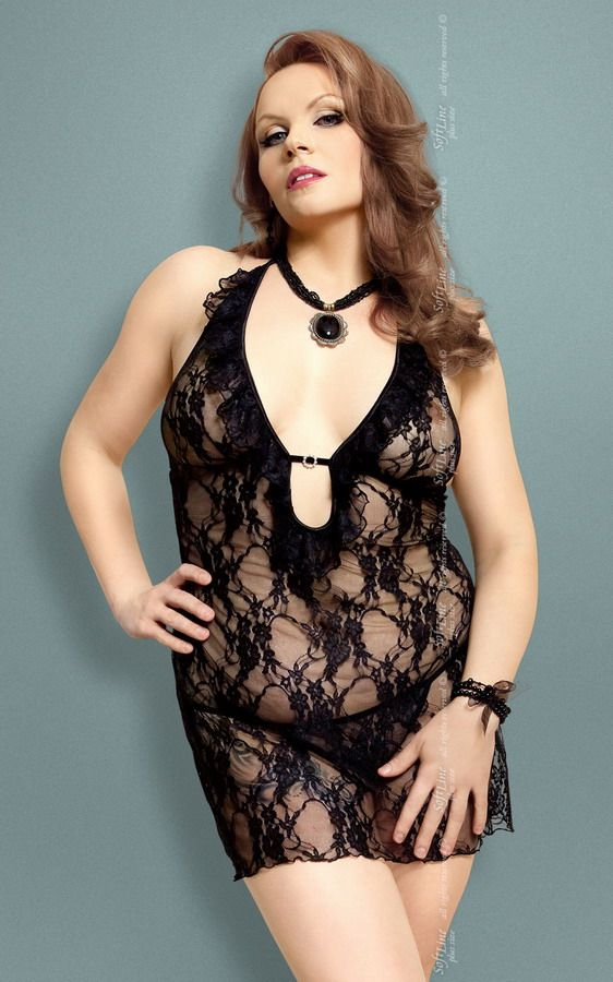 Сорочка Carmen из цветочного кружева - фото 132652