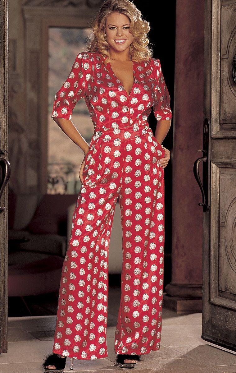 Пижамка с принтом Мэрилин Монро