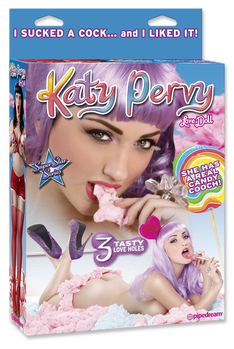 Кукла Katy Pervy с тремя любовными отверстиями