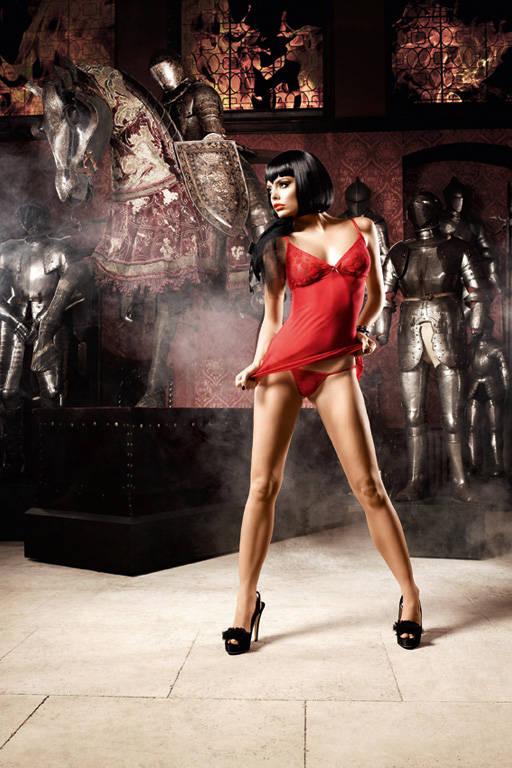 Красное платьице со стрингами Deeper in Hell
