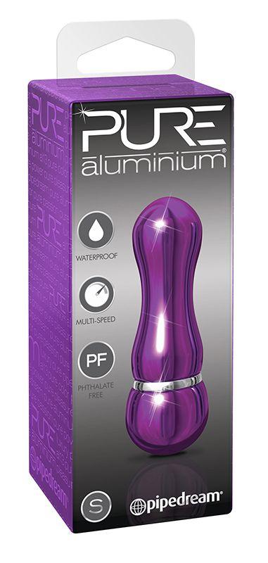 Фиолетовый алюминиевый вибратор PURPLE SMALL - 7,5 см. PD4952-12 от Pipedream