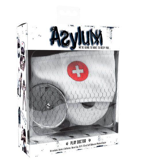 Набор доктора Asylum: шапочка, отражатель и эластичная фиксация - фото 133845