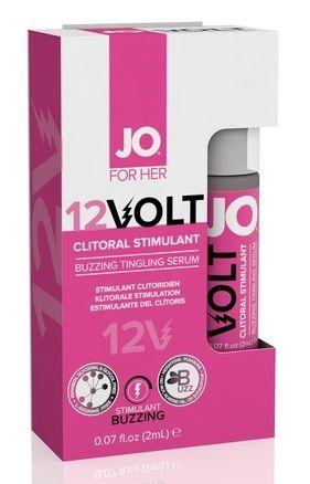 Возбуждающая сыворотка мощного действия JO Volt 12V Spray - 2 мл.