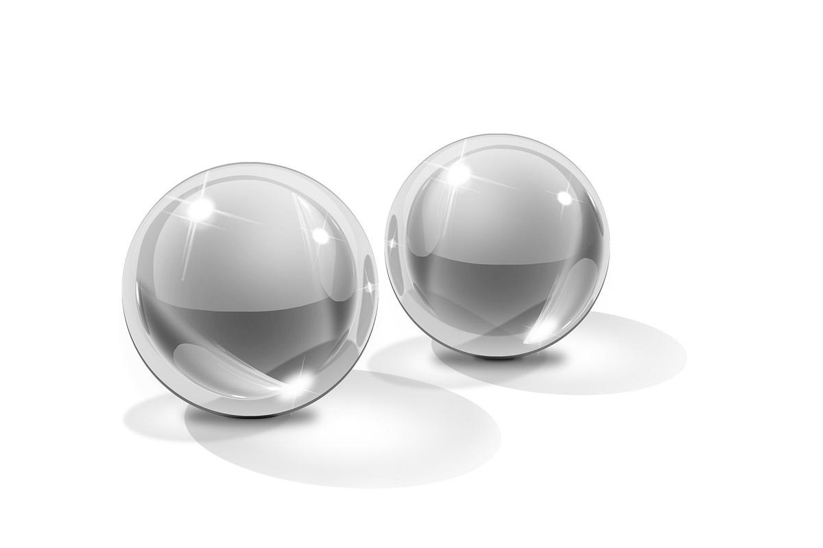 Вагинальные шарики из стекла Small Glass Ben-Wa