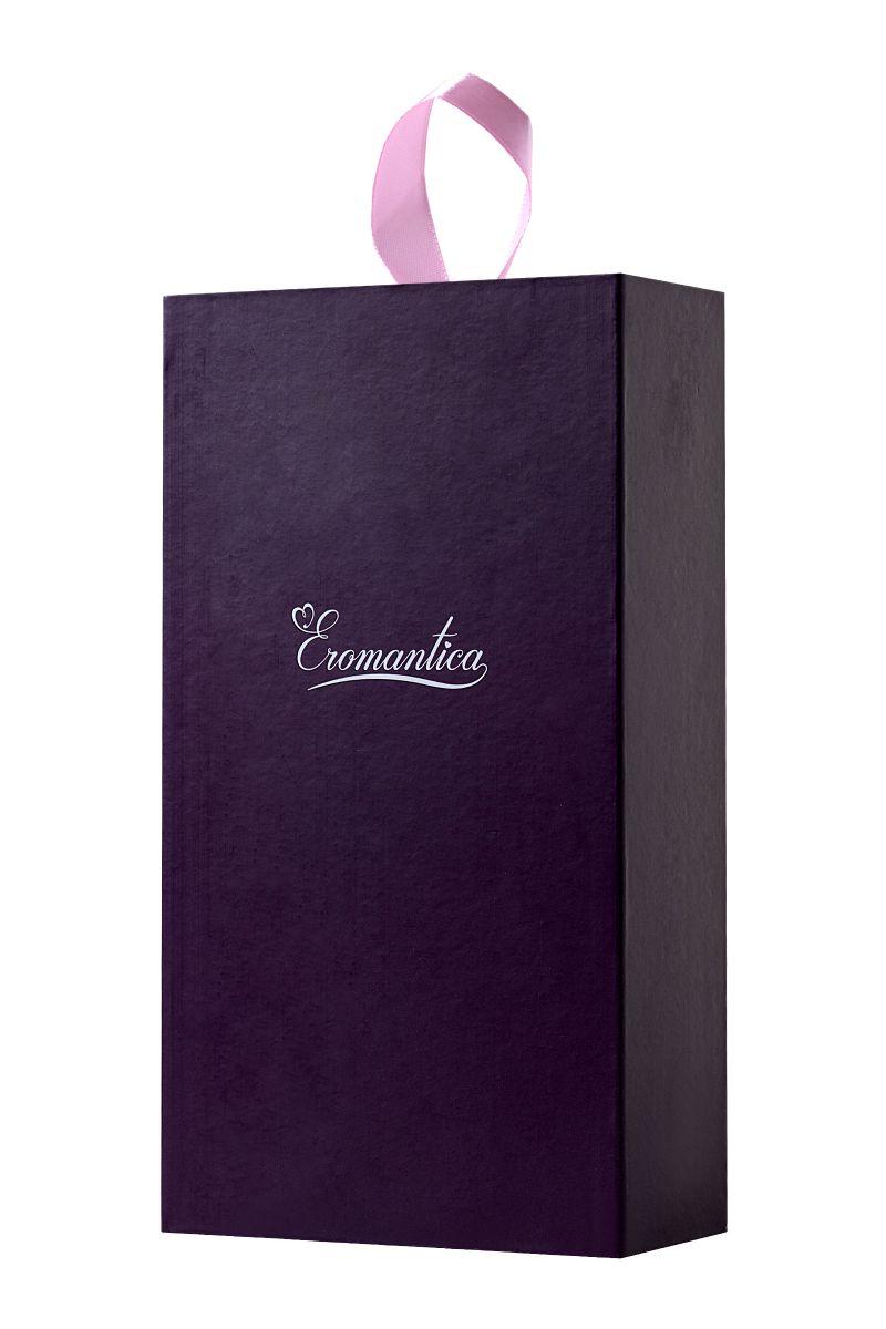 Фиолетовый стимулятор эрогенных зон Eromantica BUNNY - 12,5 см.