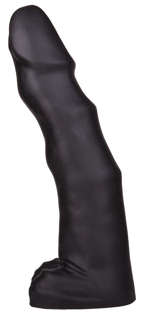Чёрный фаллоимитатор-гигант TYRANT - 36 см. - фото 176109