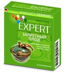 Презервативы Expert  Запретный плод  - 3 шт.
