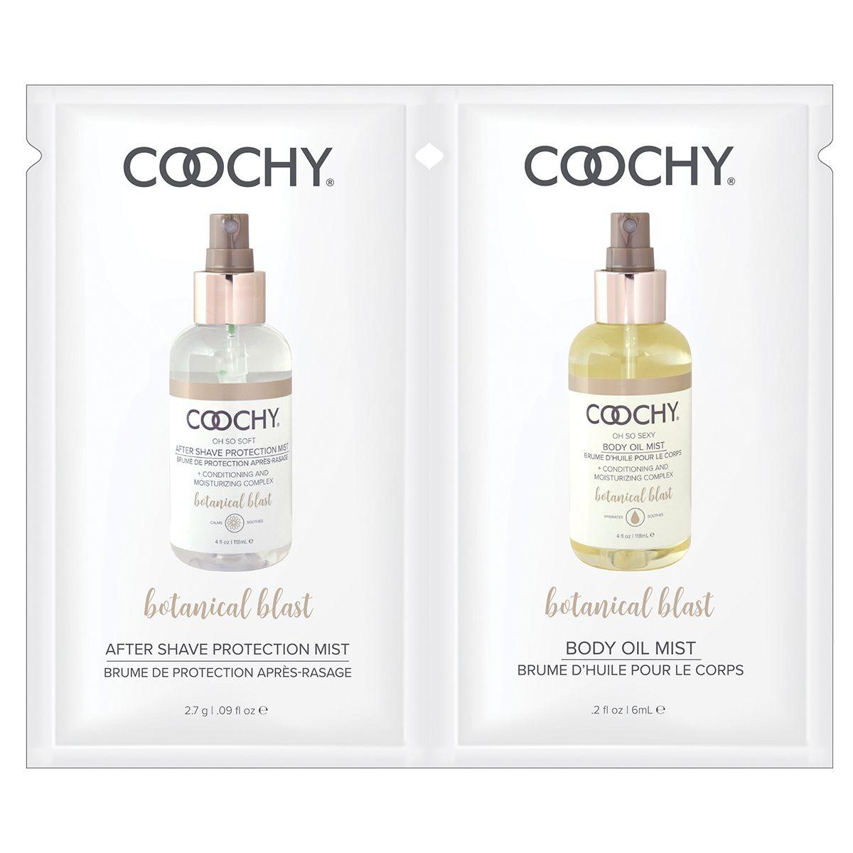 Набор - масло с феромонами и лосьон после бритья COOCHY BOTANTICAL BLAST - 6 мл. и 2,7 гр.