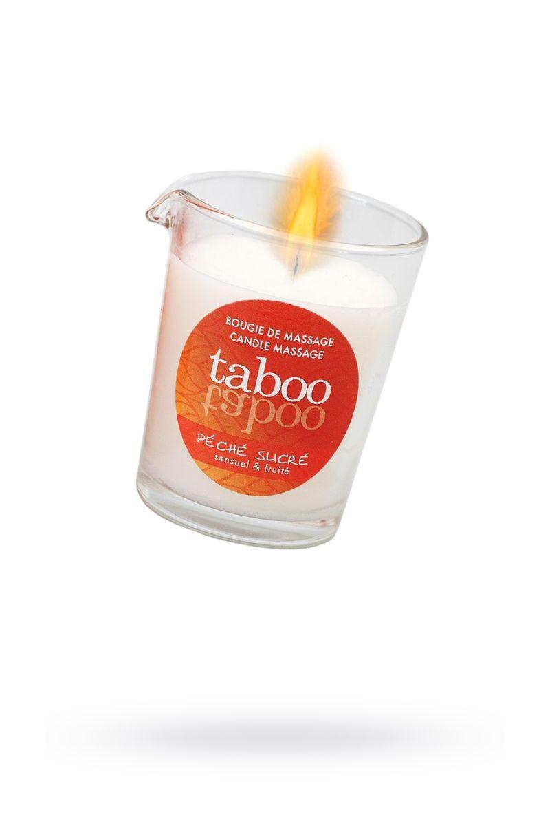 Массажное аромамасло с афродизиаками для женщин RUF Taboo Peche sucre - 60 гр.
