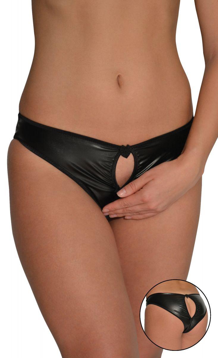 Женские трусики-слипы с пикантными вырезами