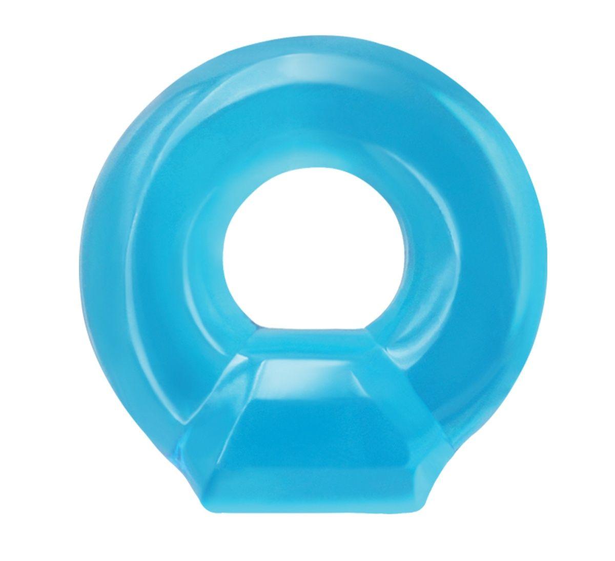 Голубое эрекционное кольцо Drop Ring
