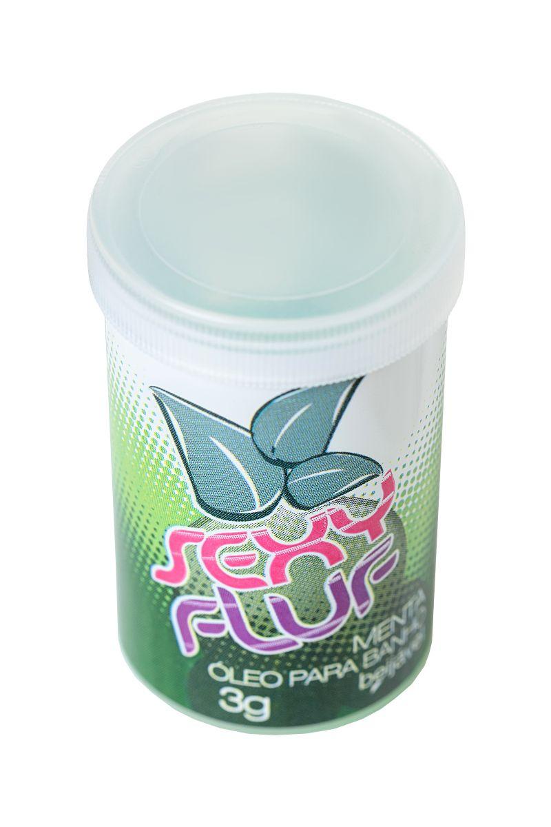 Масло для ванны и массажа SEXY FLUF с мятным ароматом - 2 капсулы (3 гр.)