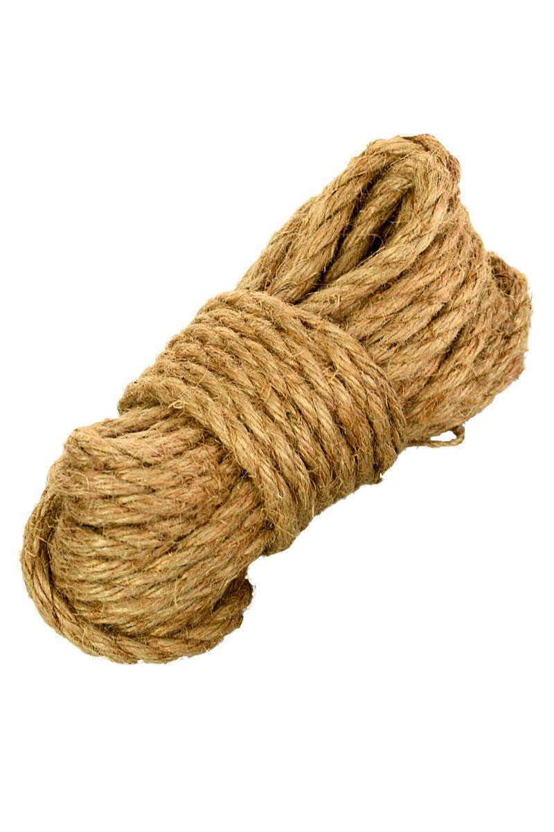 Джутовая веревка для бондажа - 10 м.