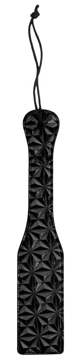 Черная шлепалка Luxury Paddle - 31,5 см.