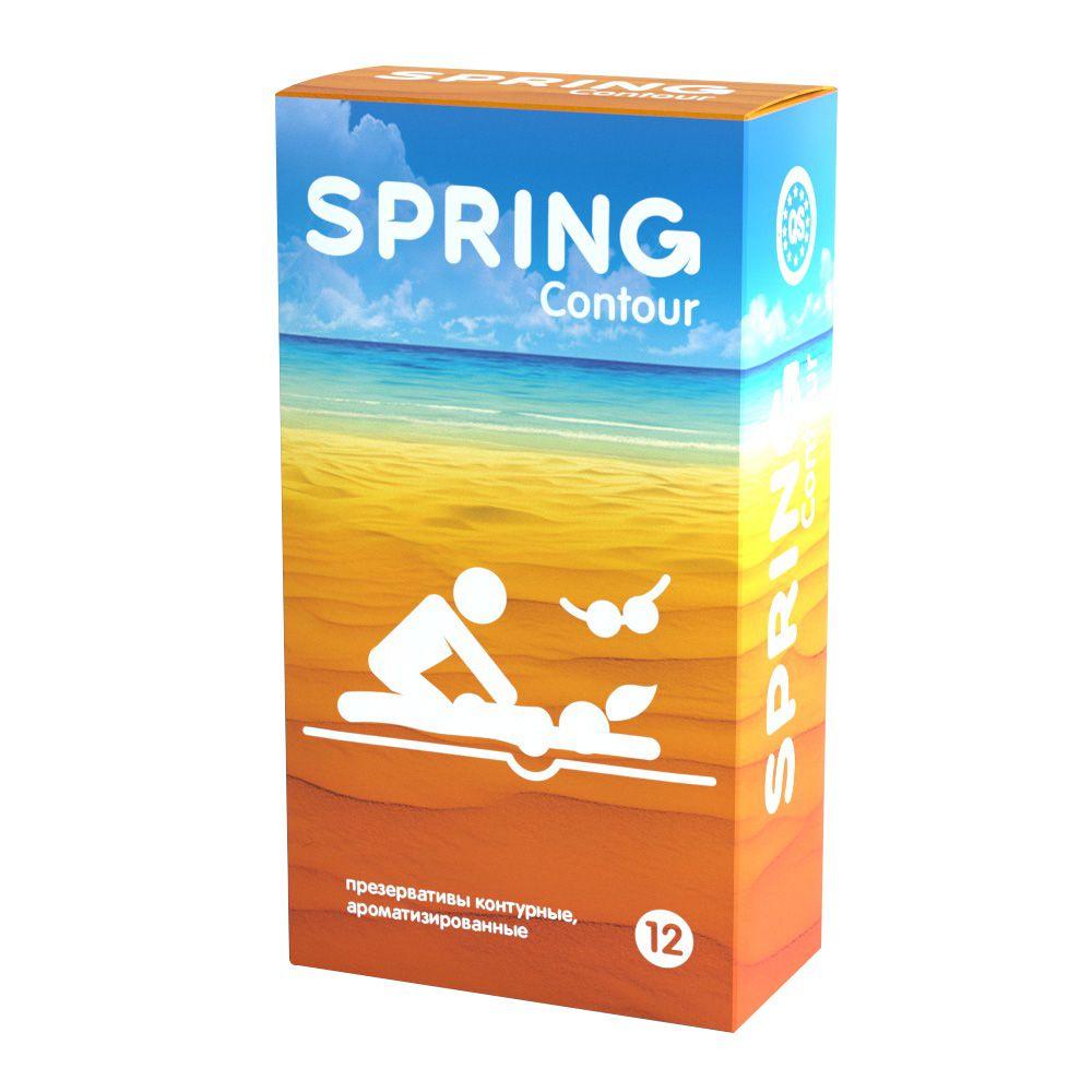 Контурные презервативы SPRING CONTOUR - 12 шт. SPRING CONTOUR №12 от SPRING