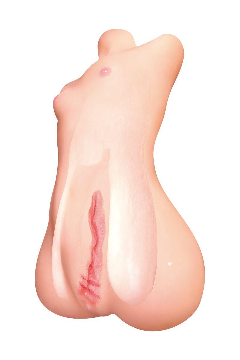 Телесный реалистичный мастурбатор-девственница Pure bride Lolinco Edition