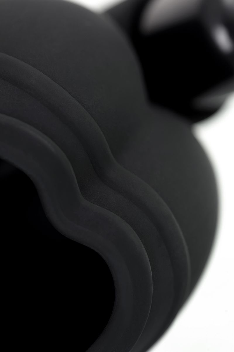 Чехол для мошонки с эрекционным кольцом и вибрацией Attraction Erotist