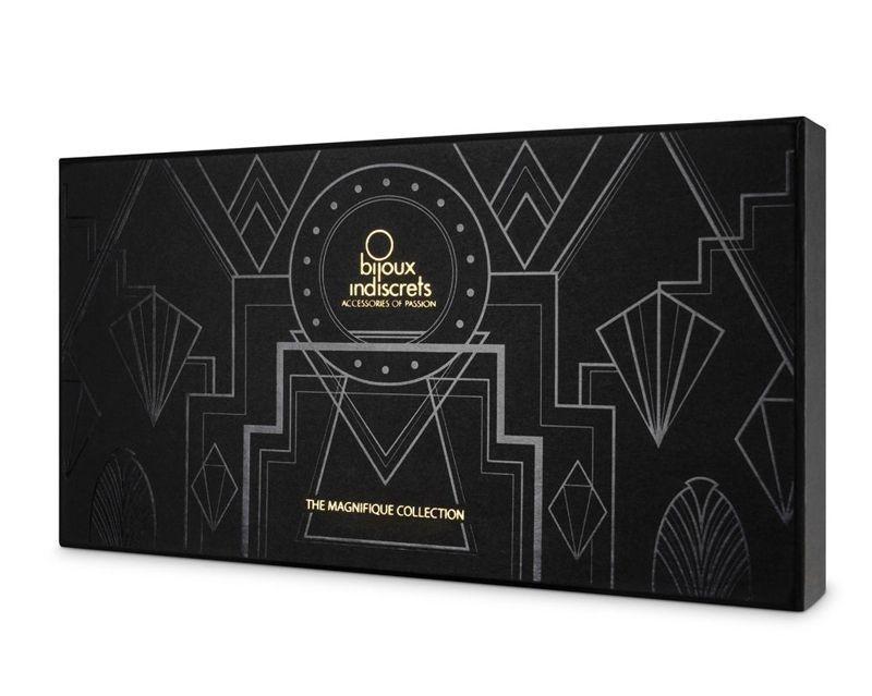 Золотистое украшение из цепочек Magnifique Metallic Chain Waist Jewelry