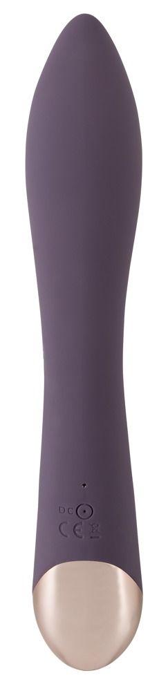 Фиолетовый вибратор-кролик Javida Sucking - 21,6 см.