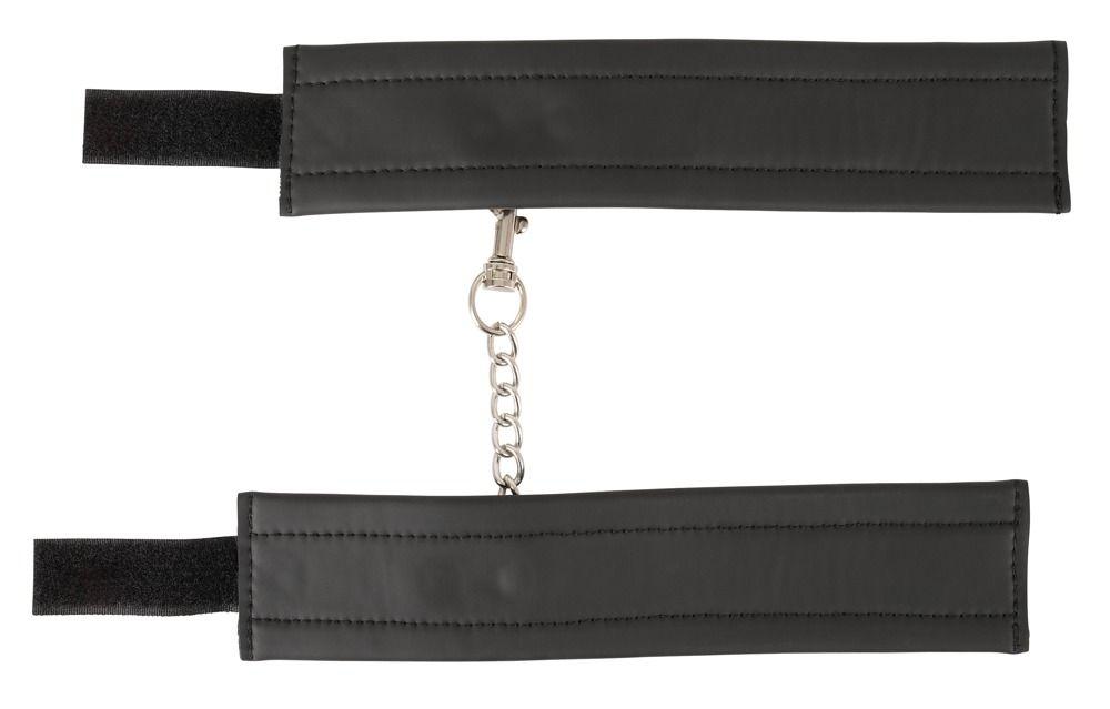 Черные наручники Handcuffs на цепочке