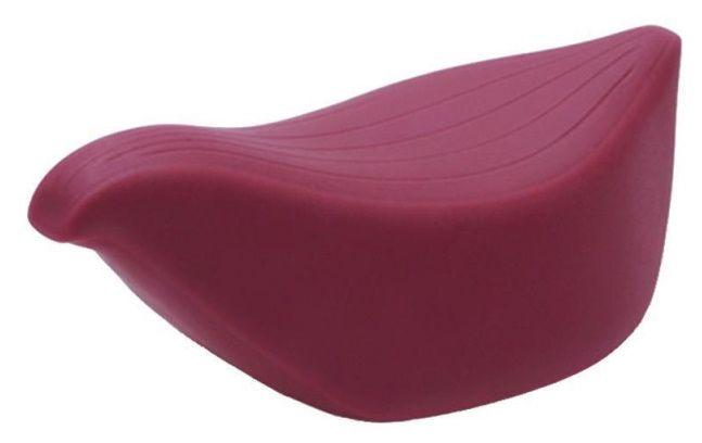 Бордовый клиторальный стимулятор IROHA TORI