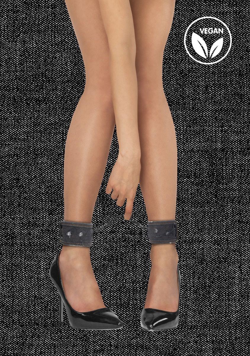 Черные джинсовые наножники Roughend Denim Style