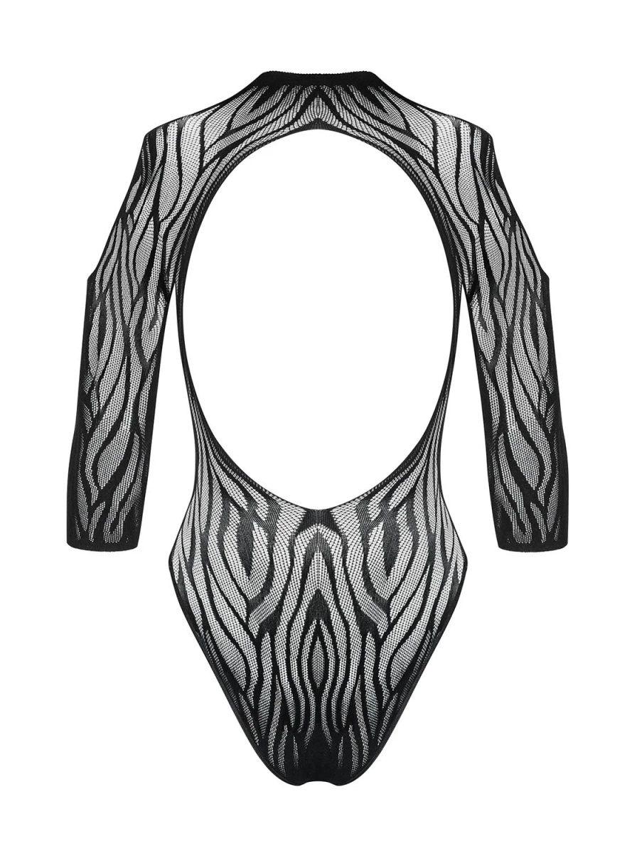 Стильное боди с открытыми плечами