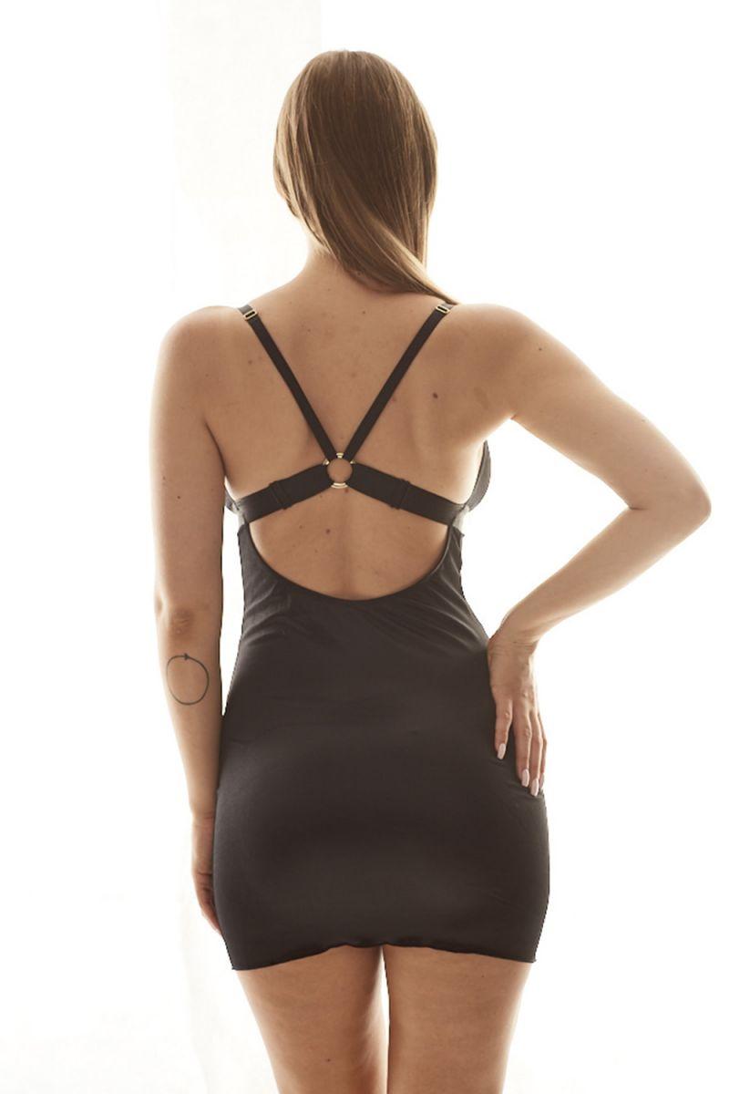 Пикантная облегающая сорочка Jolene с кружевом