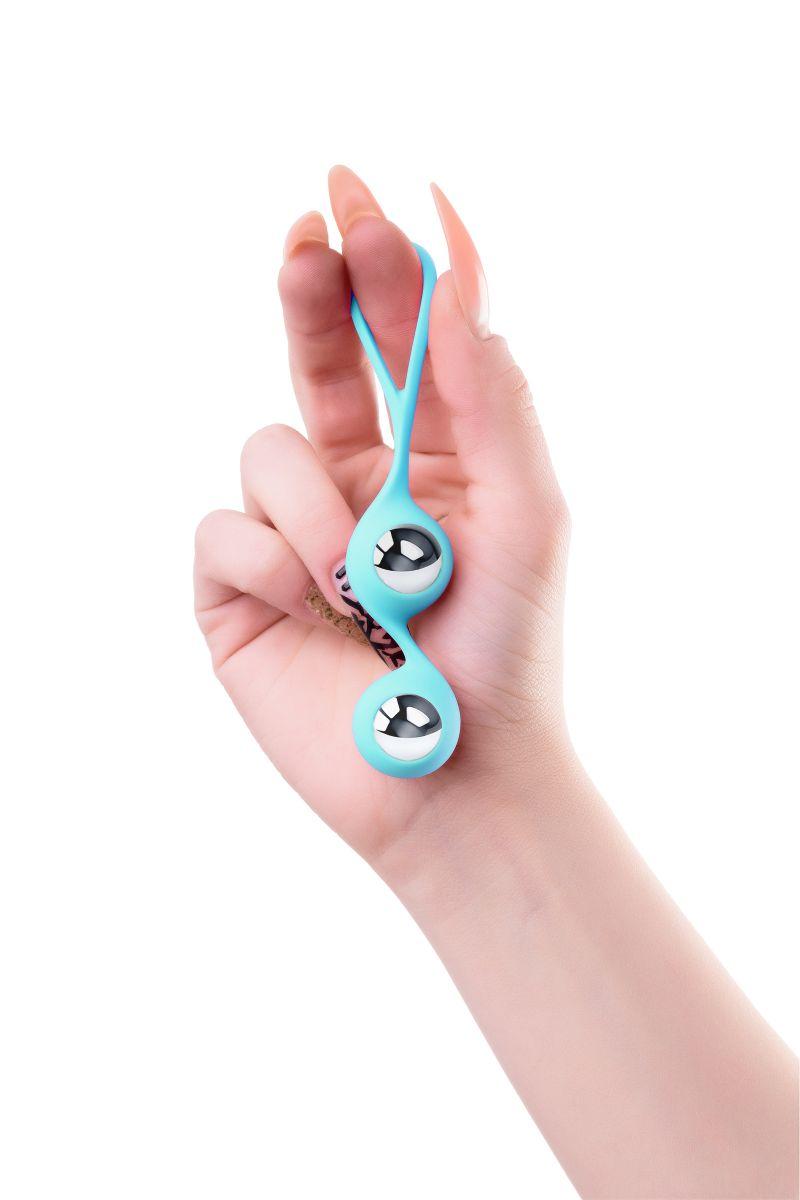 Голубые вагинальные шарики Futa