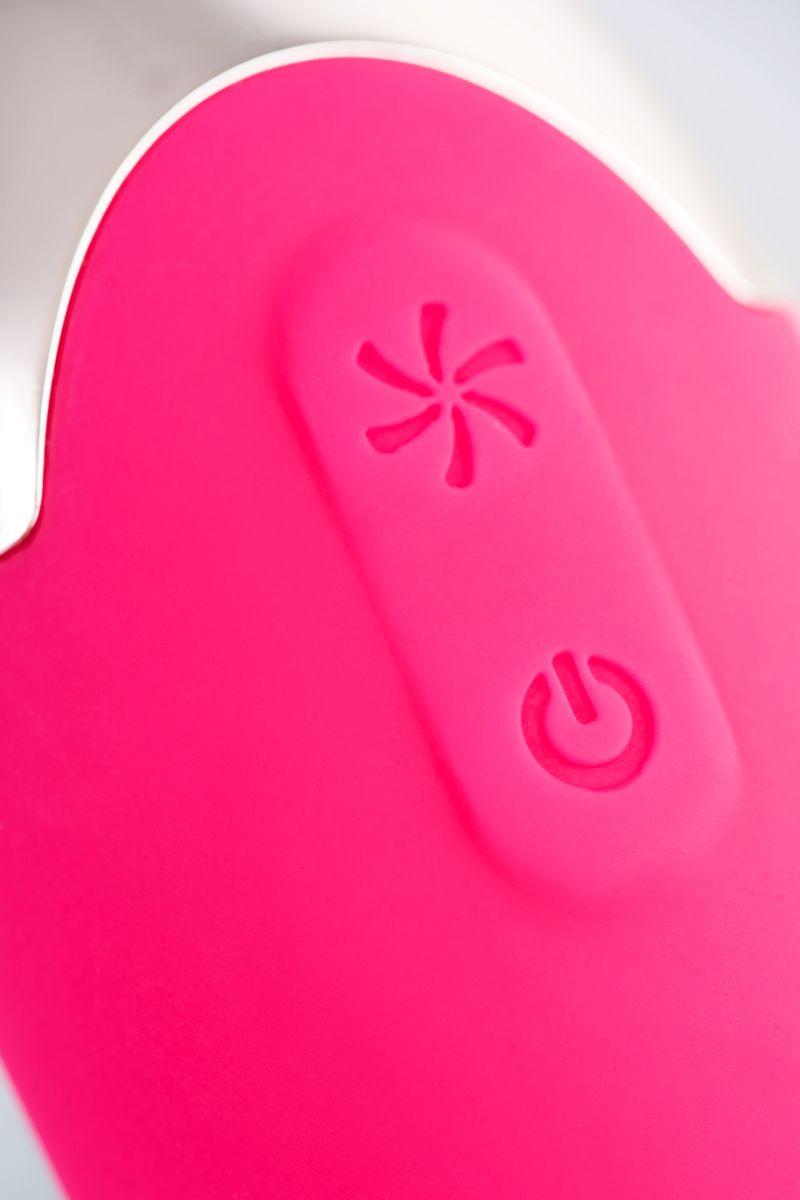 Розовый вакуум-волновой бесконтактный стимулятор клитора Laly