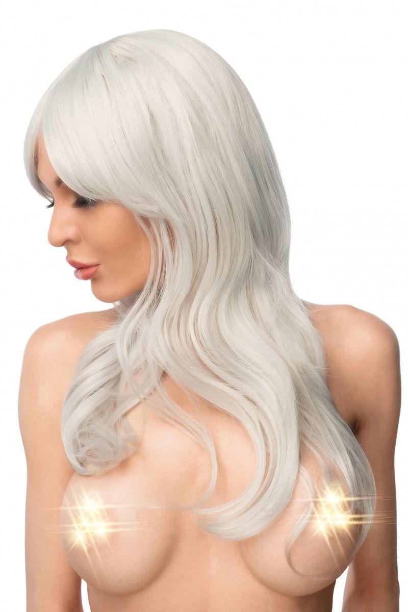 Светло-серый парик  Амайя