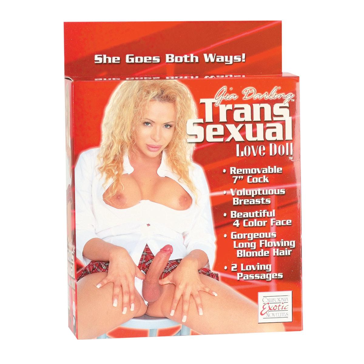 Трансвестит и его игрушка 17 фотография