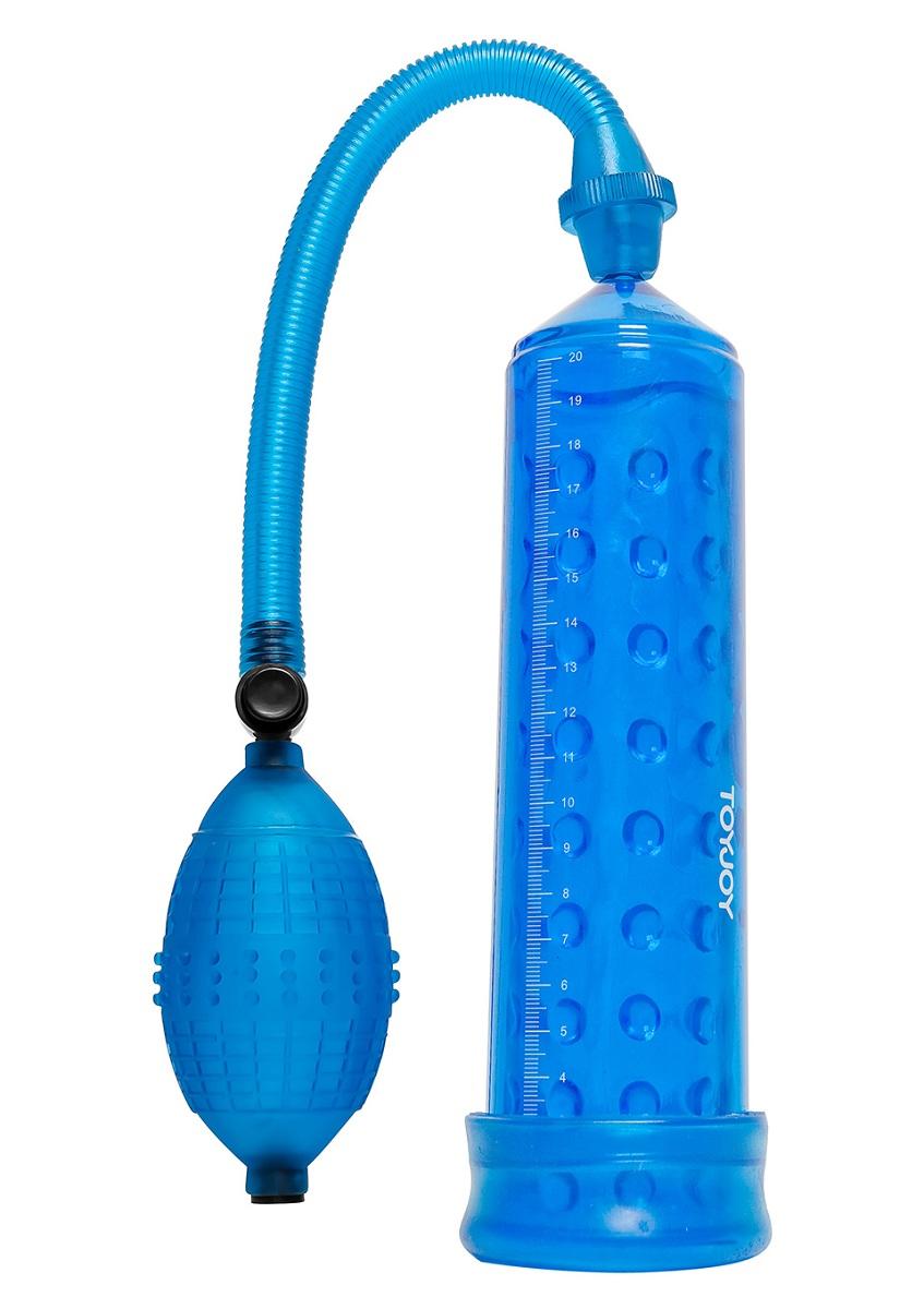 Синяя вакуумная помпа POWER MASSAGE PUMP