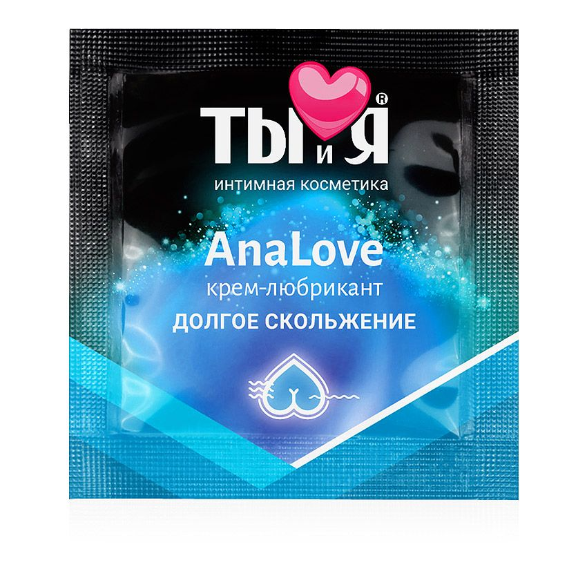 Анальный крем-любрикант AnaLove в одноразовой упаковке - 4 гр. LB-70024t от Биоритм