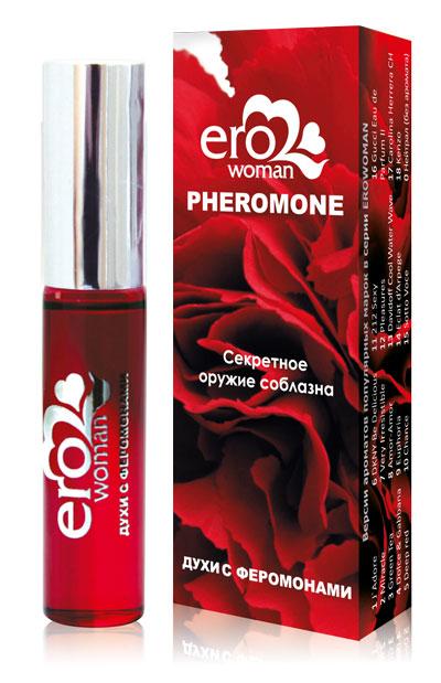Женские духи с феромонами Erowoman №9 - 10 мл.